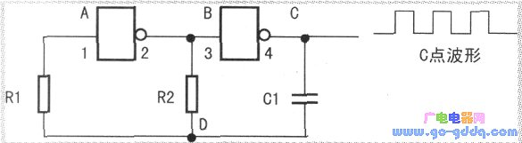 基于4069的多谐振荡器电路实验