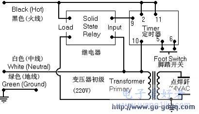 简易电焊机电路制作与分析图片