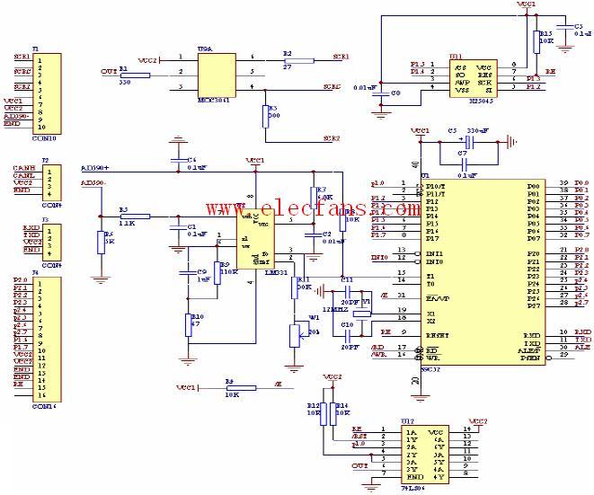 51单片机温度控制电路设计