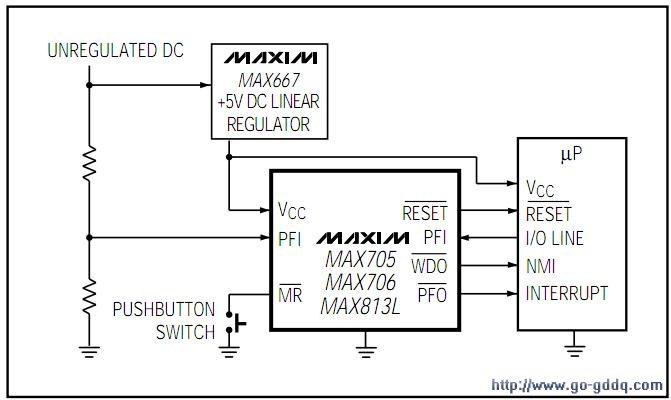 max813l应用电路图