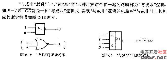 """""""与或非""""逻辑是什么?""""与或非""""逻辑符号分析详解"""