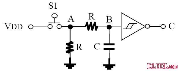 .电容麦电路_按键消抖电路图解